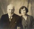 George Read Glanfield; Katie Louise Glanfield (née Paterson), by Dudley Glanfield - NPG x198621