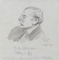 Theodore 'Blake Wirgman taking a nap', by Fred Roe - NPG D43143