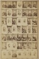 Various politicians and others, by and after Elliott & Fry - NPG Ax139904