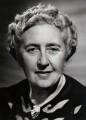 Agatha Christie, by Walter Bird, for  Camera Press: London: UK - NPG x139871