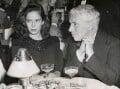 Oona Chaplin (née O'Neill); Charlie Chaplin, for ACME Newspictures, Inc. - NPG x139882
