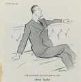 David McAdam Eccles, 1st Viscount Eccles, after Sir David Low - NPG D43343