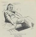 (Robert) Anthony Eden, 1st Earl of Avon, after Sir David Low - NPG D43345