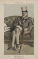 George John Whyte-Melville ('Men of the Day, No. 32.'), by James Jacques Tissot - NPG D43502