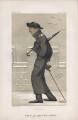 Hon. Gerald Valerian Wellesley ('Men of the Day. No. 129.'), by Sir Leslie Ward - NPG D43739