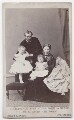 The Duke and Duchess of Hesse and by Rhine with their two eldest daughters, by Hills & Saunders - NPG x197987