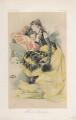 Sarah Bernhardt ('Women of Genius. No. 1.'), by Théobald Chartran ('T') - NPG D43912