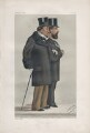 Benjamin Disraeli, Earl of Beaconsfield; Montagu William Lowry Corry, Baron Rowton ('Season number'), by Sir Leslie Ward - NPG D43936