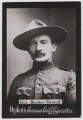 Robert Baden-Powell, by Francis Henry Hart, for  Elliott & Fry, published by  Ogden's - NPG x193153