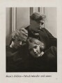 Yaltah Menuhin; Hephzibah Menuhin; Yehudi Menuhin, Baron Menuhin, by Lusha Nelson - NPG x193432