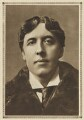 Oscar Wilde, by Alfred Ellis & Walery, published by  George G. Harrap & Company, printed by  The Vandyck Printers Ltd - NPG Ax199047