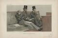 'The Treasury Bench' William Ewart Gladstone; Spencer Compton Cavendish, 8th Duke of Devonshire; Joseph ('Joe') Chamberlain, by Théobald Chartran ('T') - NPG D43966