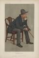 William Ernest Henley ('Men of the Day. No. 551.'), by Sir Leslie Ward - NPG D44622