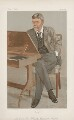 George Louis Palmella Busson Du Maurier ('Men of the Day. No. 641.'), by Sir Leslie Ward - NPG D44787