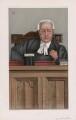 Richard Everard Webster, Viscount Alverstone ('Judges. No. 57.'), by Sir Leslie Ward - NPG D45037