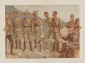 'A General Group', by Sir Leslie Ward - NPG D45041
