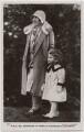 'T.R.H. The Duchess of York & Princess Elizabeth' (Queen Elizabeth, the Queen Mother; Queen Elizabeth II), published by J. Beagles & Co - NPG x193127