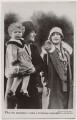 'T.R.H. The Duchess of York & Princess Elizabeth with Nurse' (including Queen Elizabeth II and Queen Elizabeth, the Queen Mother), published by J. Beagles & Co - NPG x193128