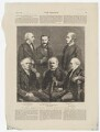 'The General Assembly of the Free Church of Scotland - some prominent members', after John Moffat, and after  Abel Lewis, and after  James Good Tunny, and after  John Stuart, and after  Robert Brown, and after  James Valentine - NPG D45898