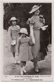 'H.R.H. The Duchess of York with her daughters H.R.H. The Princess Elizabeth H.R.H. Princess Margaret Rose', published by J. Beagles & Co - NPG x193130