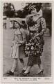 Queen Elizabeth II; Queen Elizabeth, the Queen Mother, published by J. Beagles & Co - NPG x193135