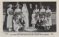 The Hon. Alexander Ramsay and Patricia Ramsay on their wedding day, by Alexander Corbett, published by  J. Beagles & Co - NPG x193085