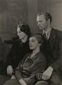 Rosamond Nina Lehmann; Beatrix Lehmann; (Rudolph) John Frederick Lehmann, by Howard Coster - NPG x199161