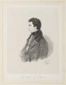 John George Lambton, 1st Earl of Durham, by Richard James Lane, after  Alfred, Count D'Orsay - NPG D45924