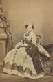 Princess Alice, Grand Duchess of Hesse, by John Jabez Edwin Mayall - NPG Ax196513