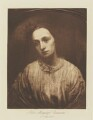 Julia Margaret Cameron, published by T. Fisher Unwin, after  George Frederic Watts - NPG Ax199213