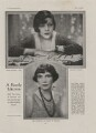 Elizabeth Vidmer (née Brooke) ('Princess Pearl'); Sylvia Leonora (née Brett), Lady Brooke, Ranee of Sarawak, by Paul Tanqueray - NPG x193446