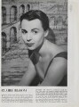 Claire Bloom, by Paul Tanqueray - NPG x193447