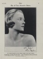 Teresa ('Baby') Jungman (later Cuthbertson)
