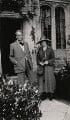 W.B. Yeats; Bertha Georgie Yeats (née Hyde-Lees), by Lady Ottoline Morrell - NPG x140876