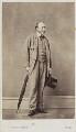 Unknown man, by W.T. & R. Gowland (William Thomas Gowland & Robert Gowland) - NPG Ax68091