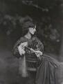 Jane Morris (née Burden), by John Robert Parsons, copied by  Emery Walker Ltd - NPG x199254