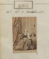 Elizabeth Montagu Woodhouse (née Burgoyne)