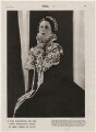 Dame Gwen Lucy Ffrangcon-Davies as 'Mary Queen of Scots', by Yvonne Gregory - NPG x193462