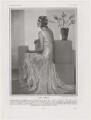 Sylvia (née Hawkes), Lady Ashley, by Dorothy Wilding - NPG x193463
