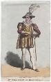 Robert William Elliston as Mercutio in 'Romeo and Juliet', by J. Findlay - NPG D46073