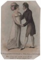 Robert William Elliston; Dorothy Jordan as Belinda and Beverley in Murphy's 'All in the Wrong', probably by John Alais - NPG D46075