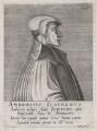Ambrose Blaurer, by Hendrik Hondius (Hond) - NPG D46082