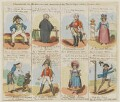 Characters in the New Piece Now Performing at the Theatre Royal Cotten Garden 1820, published by John Marshall Jr - NPG D46025a