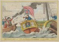The Pilot Lost and the National Steamboat in Danger, by Charles Williams, published by  Samuel Knight - NPG D46027