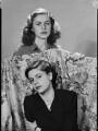 Ana Inez Astor (née Carcano y Morra); Stella Ward (née Carcano y Morra), Viscountess Ednam, by Francis Goodman - NPG x195644