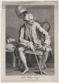 John Wilkes, by Thomas Cook, published by  George, George and John Robinson, after  William Hogarth - NPG D46104