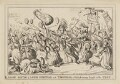 Grand Battle of Lords Spiritual and Temporal or Political courage brought to the Test, by William Heath, published by  Thomas McLean - NPG D46067