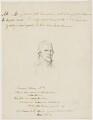 Edward Wilson, possibly after Henry Walton - NPG D46116