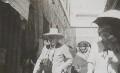 Winston Churchill; Clementine Ogilvy Spencer-Churchill (née Hozier), Baroness Spencer-Churchill, by Lady Evelyn Hilda Stuart Moyne (née Erskine) - NPG Ax183144