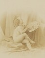 'Art must assist Photography' (Putto as Allegory of Painting), by Oscar Gustav Rejlander - NPG P2011(1)
